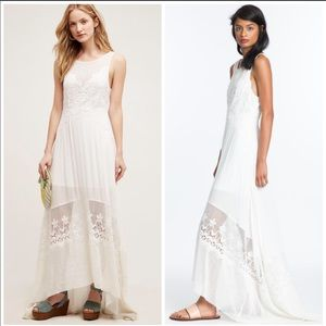 Anthropologie Tracy Reese Estancia Lace Dress Maxi